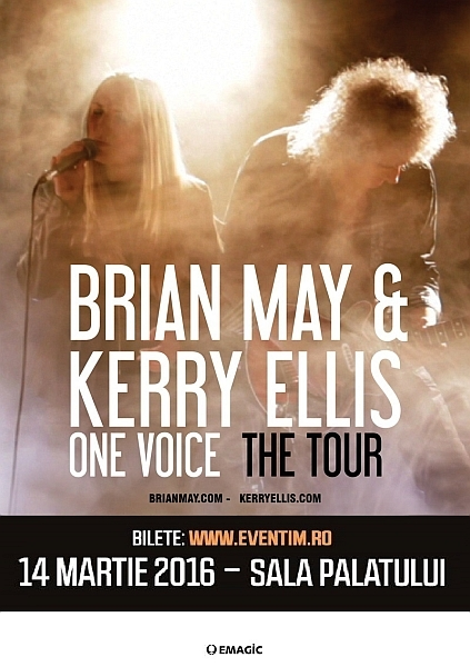 Brian May si Kerry Ellis_Bucuresti
