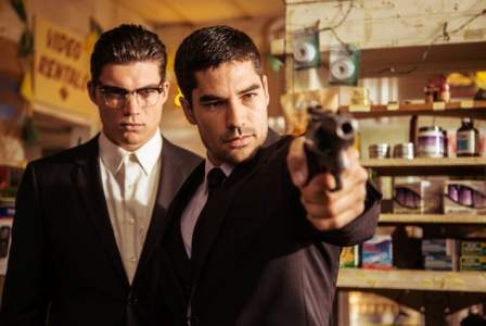 "D.J. Cotrona as Seth Gecko Zane Holtz as Richie Gecko From the El Rey Network Original ""From Dusk Till Dawn: The Series"""