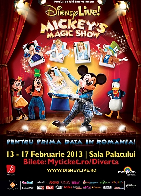 Poster Mickey's Magic Show
