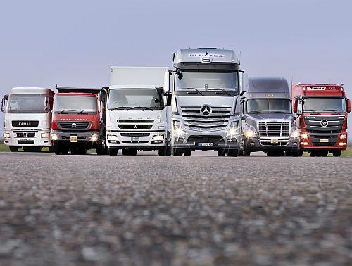 camioane Mercedes